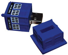 *NEW* Doctor Dr Who TARDIS 8GB USB Memory Stick Flash Drive with Blue LED Light