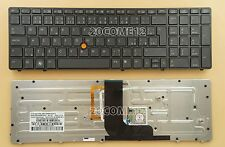 For HP EliteBook 652683-FL1 703149-FL1 Keyboard backlit Pointer Czech Slovak