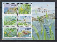 GB - ALDERNEY 2010 Dragonflies Mini-Sheet SG MSA387 MNH INSECTS
