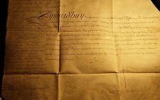 KING LOUIS XV AUTOGRAPH DOCUMENT 1747