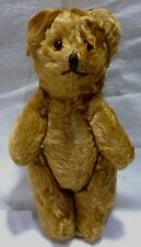 "VINTAGE 1940/50's 5.5"" high miniature MOHAIR TEDDY BEAR jointed with glass eyes"