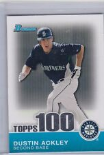 DUSTIN ACKLEY 2010 BOWMAN CHROME TOPPS 100 PROSPECTS