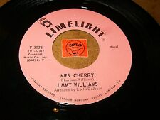 JIMMY WILLIAMS - MRS. CHERRY - KEOTO'TO   / LISTEN - SOUL POPCORN