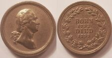 Médaille Etats-Unis, George Washington, Born 1732, Died 1799, Module du 1 Cent !