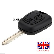 NEW CAR KEY FOB CASE 2 BUTTON WITH BLADE FOR CITROEN BERLINGO PICASSO SAXO XSARA