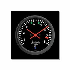 Porsche 911 Tachometer Wall Clock