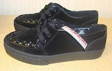 NEW BONGO BLACK CANNON WOMENS SIZE 8 CASUAL OR WORK SHOE W SMALL PLATFORM