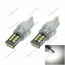 2X White 7443 7440 15 SMD 2835 LED car Light Canbus Error Free AC/DC 12-24V G027