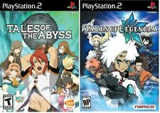 Tales of the Abyss & Tales of Legendia EPIC RPG Dual Pack PlayStation 2 PS2 NEW