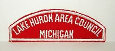 BOY SCOUT LAKE HURON AREA COUNCIL / MICHIGAN RWS