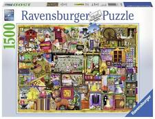 RAVENSBURGER JIGSAW PUZZLE CRAFTS AND HOBBIES COLIN THOMPSON 1500 PCS #16312