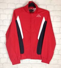 VINTAGE RETRO KAPPA TRACKSUIT TOP JACKET COAT ZIP ATHLETIC URBAN UK XS