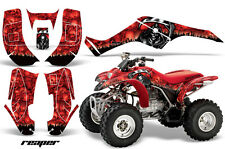 Honda TRX 250 EX AMR Racing Graphic Kit Wrap Quad Decal ATV 02-04 REAPER RED