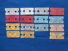 15 Vintage Berlin Cinema 1 & 2, Pike Drive In Theatre Tickets Lot - Connecticut