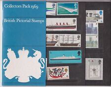 GB Presentation Pack 1969 BRITISH PICTORIAL STAMPS COLLECTORS PACK YEAR PACK