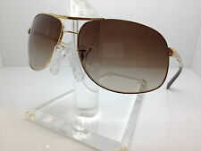 AUTHENTIC RAYBAN RB3387 001/13 67MM GOLD/GRADIENT BROWN LENS