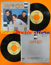 LP 45 7''VERTIGO If you stay with me Castles in the air 1988 italy EMI cd mc dvd