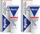 "2 x ""MYCOTA"" CREAM Prevents, Treats Athlete's Foot Antifungal 25g Expiry 01/2019"