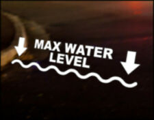 MAX WATER  Car Decal Sticker Vinyl Graphic Land Rover 90 110 Bumper off road