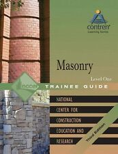 Masonry Level 1 Trainee Guide, Hardcover (3rd Edition) by NCCER