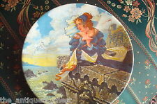 "Longton Crown Pottery of Stoke on Trent collector plate ""The Franklin's Tale""[2r"