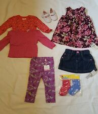 Baby girls 6-9 months NEW clothes bundle