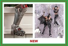 Kiss Rock Band Christmas shoe boot stocking & Ornament Dragon Gene Simmons NEW @