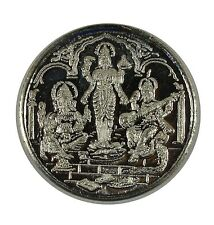 10 GRAMS PURE 999 Silver Coins Laxmi Ganpati Saraswati God For Diwali Gift Item