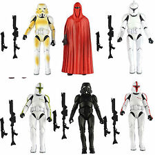 LOT 6 PCS Star Wars Clone Trooper Army Stormtrooper Loose Action Figure Toys