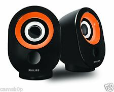 Philips SPA-50 2.0 speaker with USB Plug (Orange)