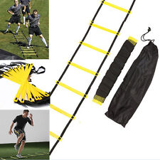 New 6-rung Agility Ladder for Soccer Football Speed Fitness Feet Training + bag