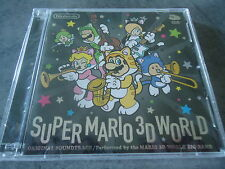 2 CD Super Mario 3D World Original Soundtrack Club Nintendo