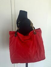 LANVIN Amalia Red Lambskin Quilted bag handbag Amazing !