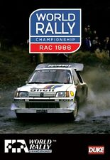 World Rally Championship - RAC 1986 Review (New DVD) FIA WRC Alen Ericsson Pond