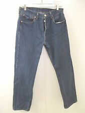 Mens Levis 501 Button Fly Jeans 32X32 100% Cotton (READ FULL DESCRIPTION)