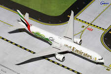 Gemini Jets GJUAE1484 Emirates Airlines Boeing 777-300LR 1:400 Scale World Cup