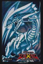 (50)Yu-Gi-Oh Blue-Eyes White Dragon Card Sleeves 50 Count Pack