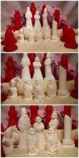 set 8x Gießformen für Schachfiguren Mystic  todes Ritter   schach schachspiel
