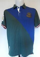 LEICESTER TIGERS S/S BOTTLE GREEN POLO SHIRT SIZE ADULT XXL BNWT
