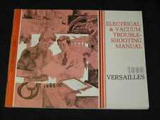1980 Lincoln Versailles EVTM Electrical Manual