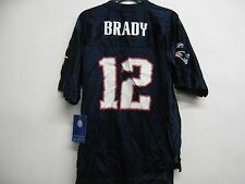 Tom Brady New England Patriots NFL Youth Navy EQP Jersey Medium 10/12 *IR
