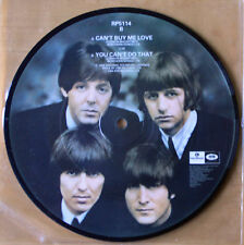"""EX! THE BEATLES CAN'T BUY ME LOVE 20TH ANNIVERSARY 7"""" Vinyl Picture Disc"""