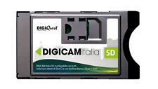 ULTIMI PEZZI, INTROVABILE!! DIGICAM ITALIA SD - CAM PER TV CON SLOT C.INTERFACE