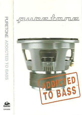 Puretone Addicted To Bass CASSETTE SINGLE Electronic Breakbeat House Drum n Bass