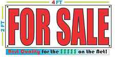 Special 2x4 FOR SALE Banner Sign NEW Discount Size - Best Quality for The $$$