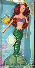 """Ariel Little Mermaid Deluxe Feature 18"""" Singing Doll Light up Tail flutters 17"""""""