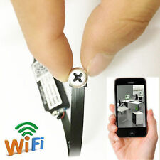 DIY wireless WIFI IP DIY  white screw mini camera Personal Spy Nanny CAM DV