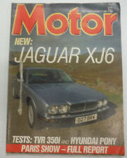 Motor Magazine Jaguar XJ6 October 1986 060515R2