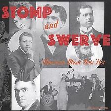 STOMP AND SWERVE - AMERCAN MUSIC GETS HOT -VARIOUS ARTISTS - 27 TRACKS -CD-NEW