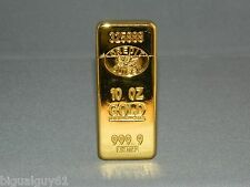 Ultra Thin Gold Bar Shaped Sophisticated Butane Lighter 999.9 USA Stock & Ship